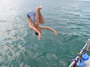 What other tricks can you do, Evan?  Walk on water?.....