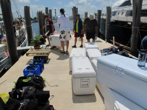 How's all this going to fit on the boat??!?!?!?