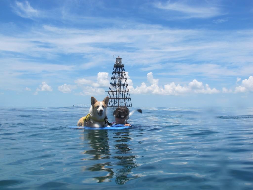 At Sand Key Lighthouse