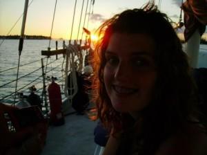 Kateybug at sunset