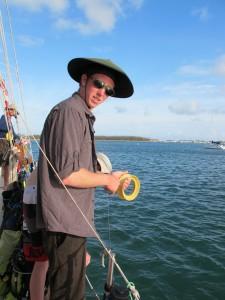 Imperial leader baitfishing!