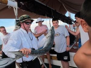 Big baracuda caught on Monday.