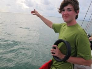 Connor baitfishes.