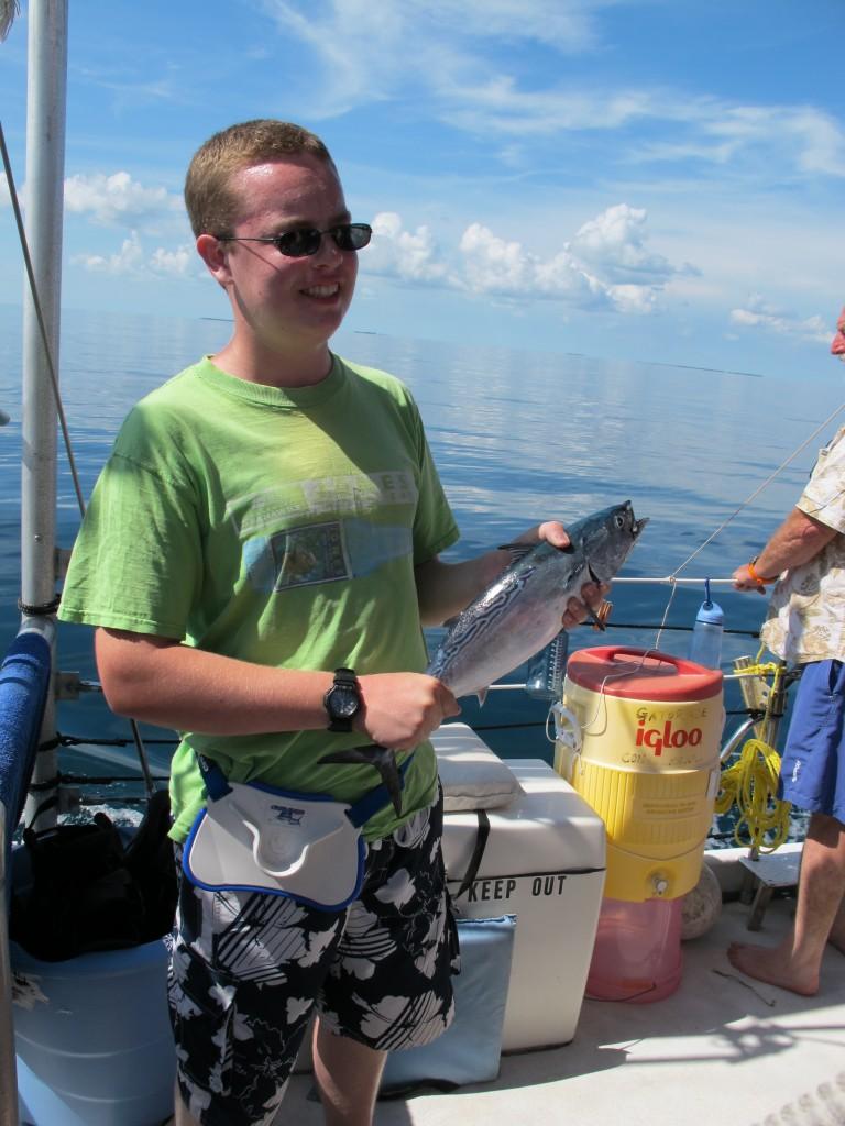 Happy fisherman!